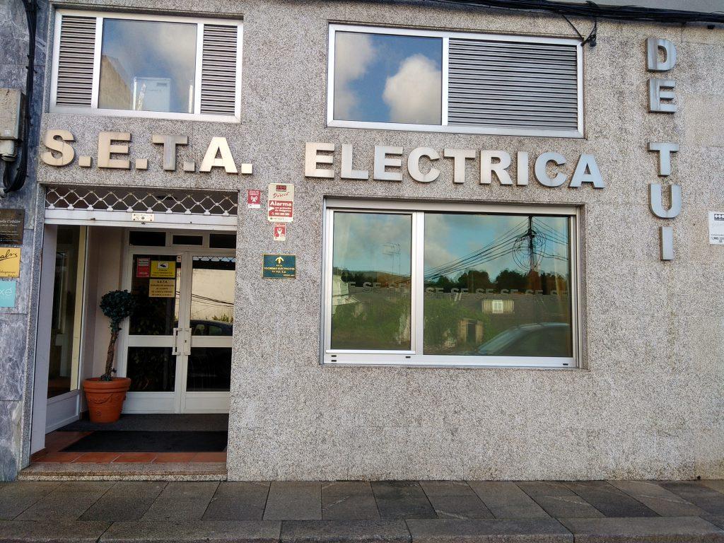 SETA. SOCIEDAD ELECTRICISTA DE TUI
