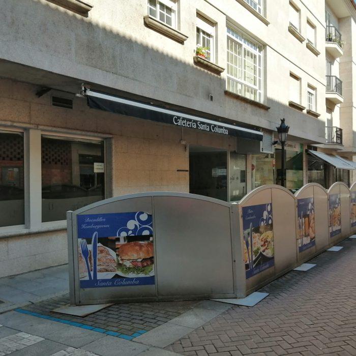 Cafetería Santa Columba
